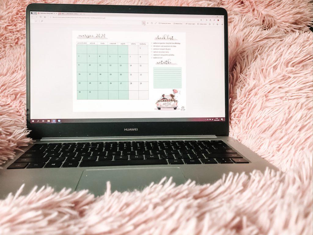 kalendarz ślubny